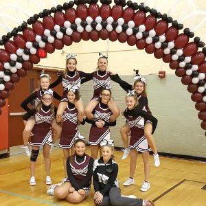 Burnt Hills Middle School Cheerleaders