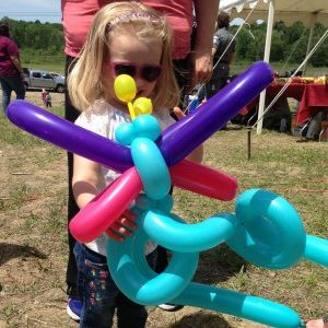 Butterfly Balloon twisting
