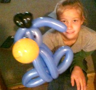 Character Balloon Twisting