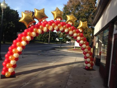 Custom Name balloon arch