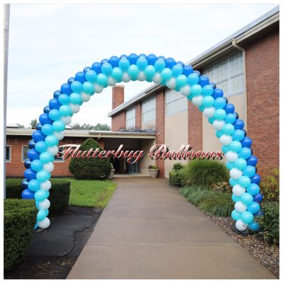 Back to school balloon arch
