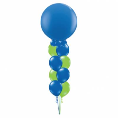 Ultra Supersized Latex balloon bouquet