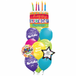 Supersized Personalized Gift Balloon Bouquet