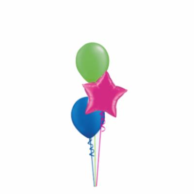 Three balloon bouquet