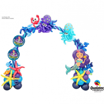 Under The Sea Balloon Arch