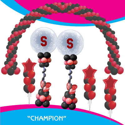 Champion Balloon Package