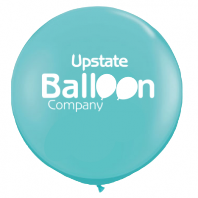 3' balloons with your logo