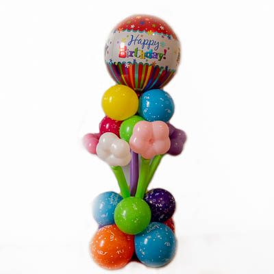 Bubble Balloon Gift Arrangement