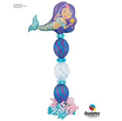 Under The Sea Mermaid Balloons