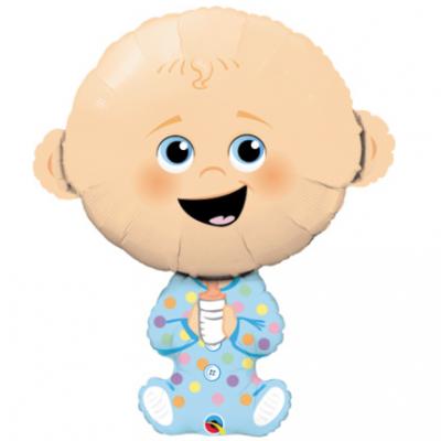 Large Baby Boy Balloon