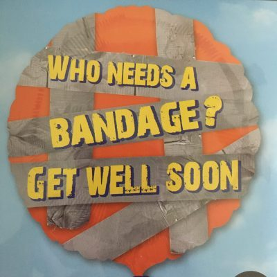 Duct Tape Bandage Get Well Soon