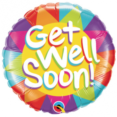 Sunshine Rainbow Get Well Soon
