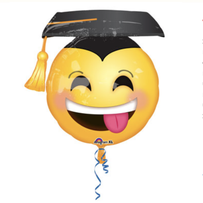 Graduation Smiley Face