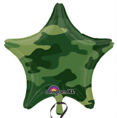 Army Star Balloon