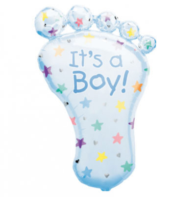 Large Boy Foot Balloon