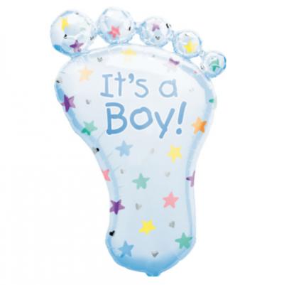 Large Boy Foot Balloon