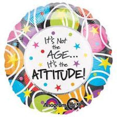Swirl Attitude Birthday