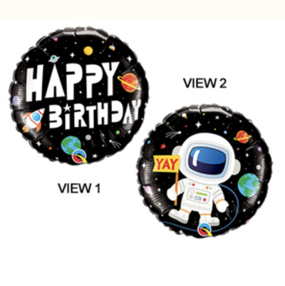 Astronaut Birthday