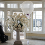 elegant three foot balloon