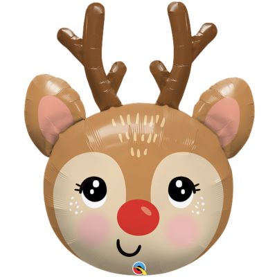 Rudolph the red nosed reindeer qualatex