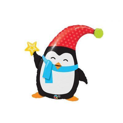 Penguin holding Star
